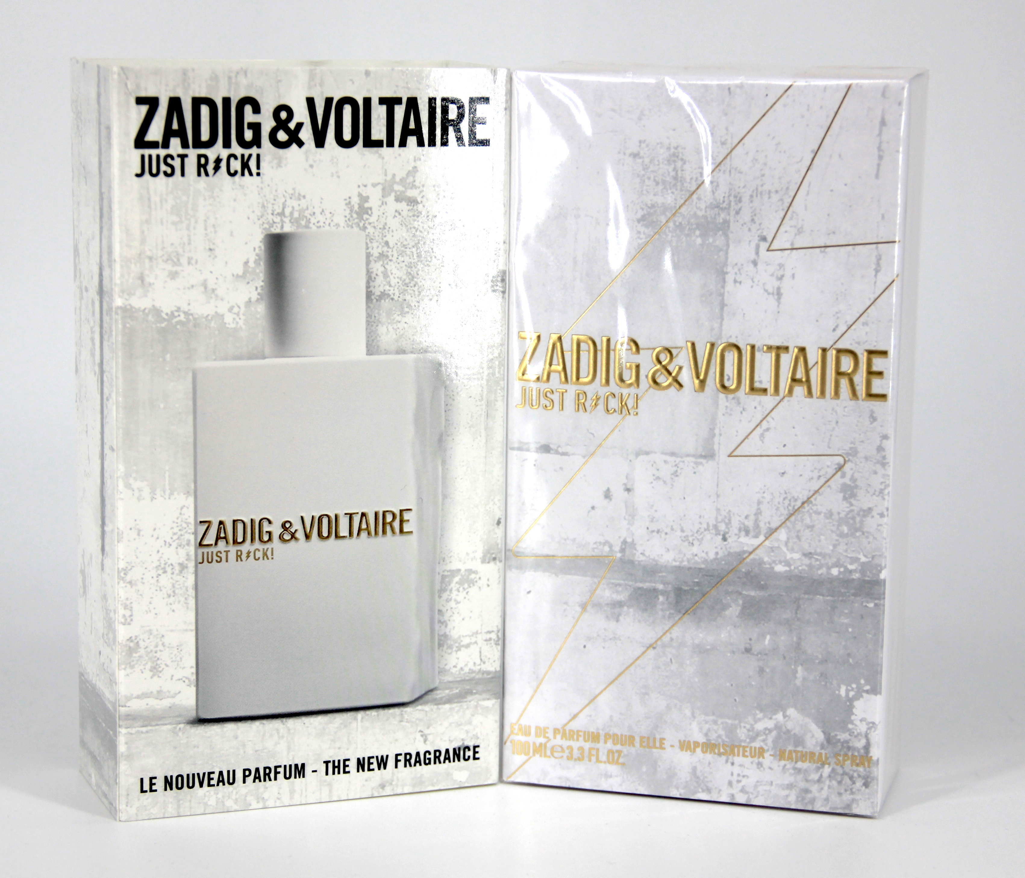 zadig voltaire just rock pour elle 100ml eau de parfum parfumdiscount. Black Bedroom Furniture Sets. Home Design Ideas