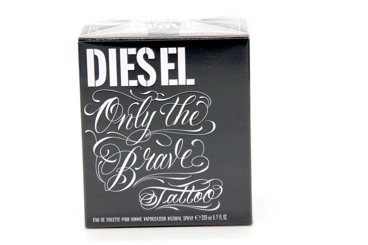 diesel only the brave tatoo 200ml edt parfumdiscount. Black Bedroom Furniture Sets. Home Design Ideas