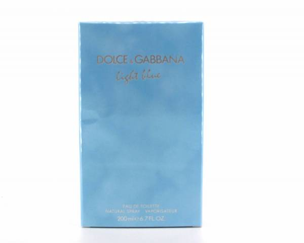 dolce gabbana light blue 200